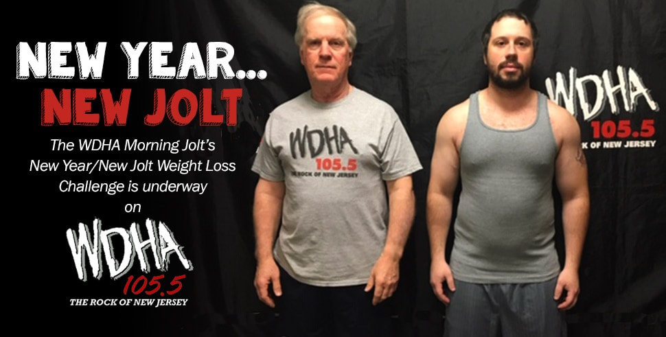 The WDHA Morning Jolt New Year/New Jolt Weight Loss Challenge