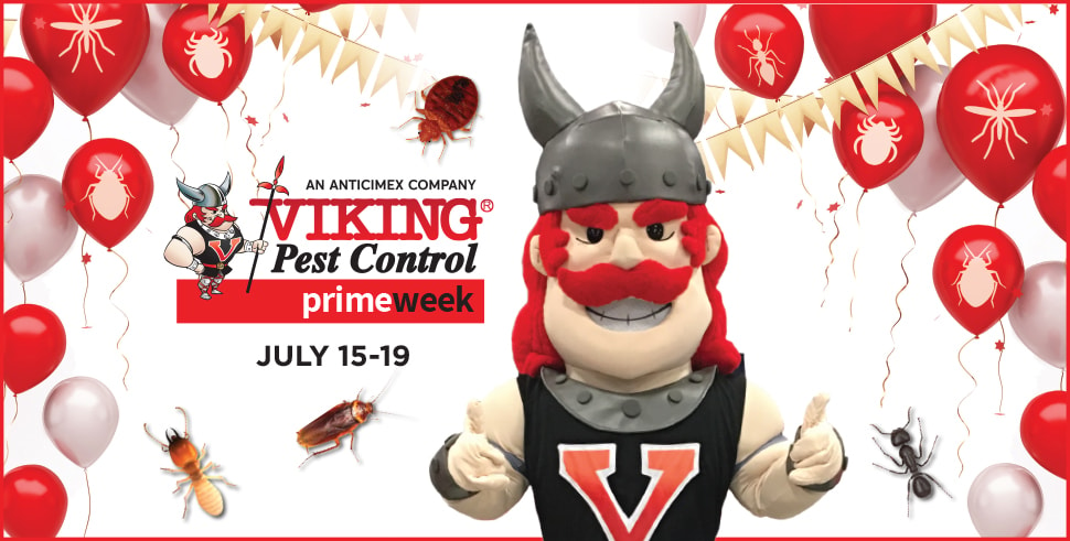 Pest Prime Week from Viking Pest Control
