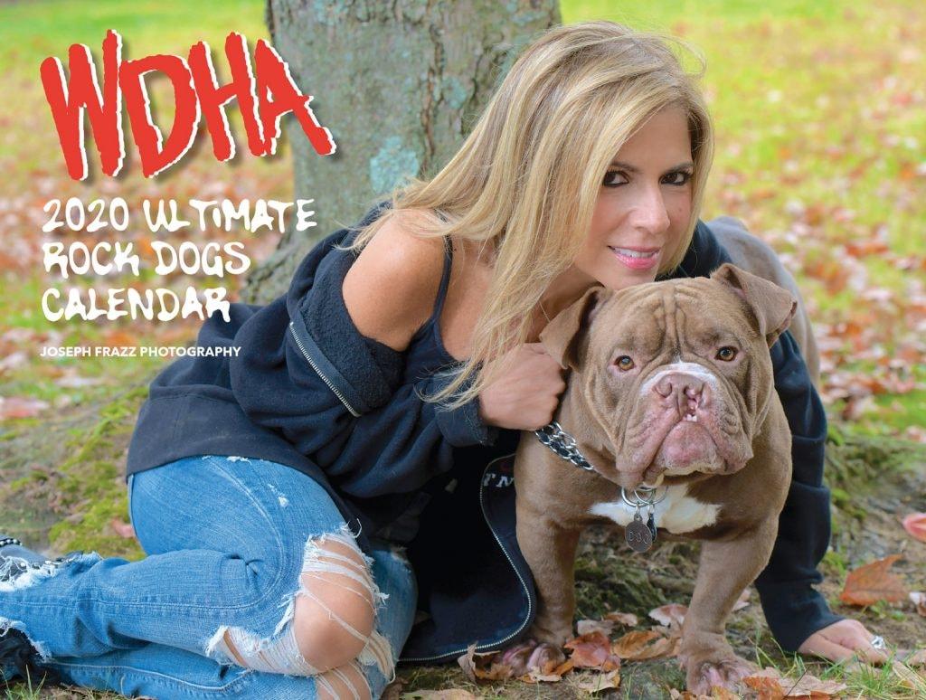 WDHA's Ultimate Rock Dog Calendar 2020