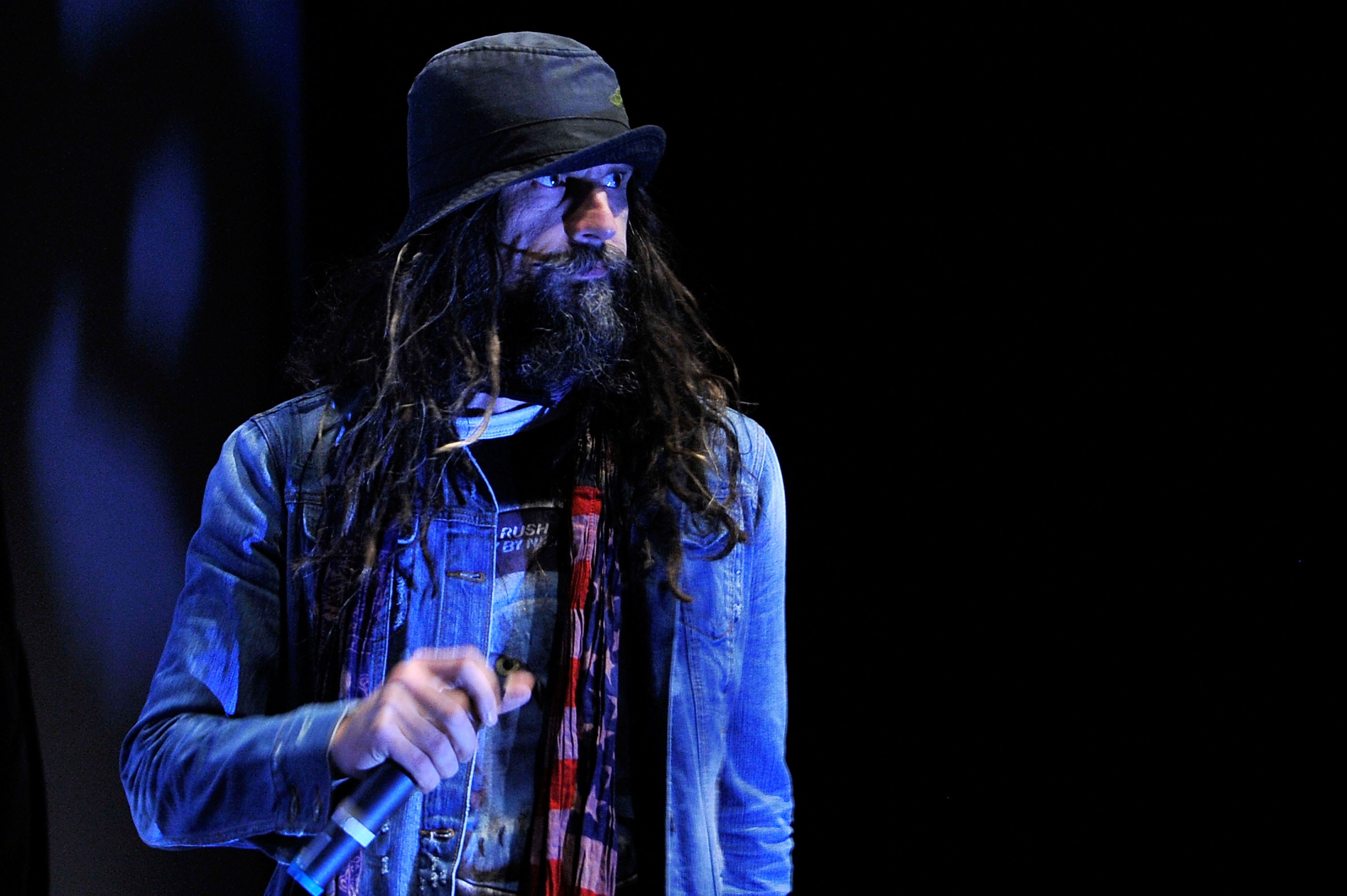TORONTO, ON - SEPTEMBER 10: Filmmaker Rob Zombie speaks at 'The Lords Of Salem' Premiere during the 2012 Toronto International Film Festival at the Ryerson Theatre on September 10, 2012 in Toronto, Canada.