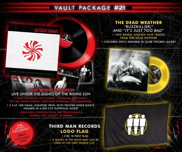 "Third Man Records ""Vault Package #21"""